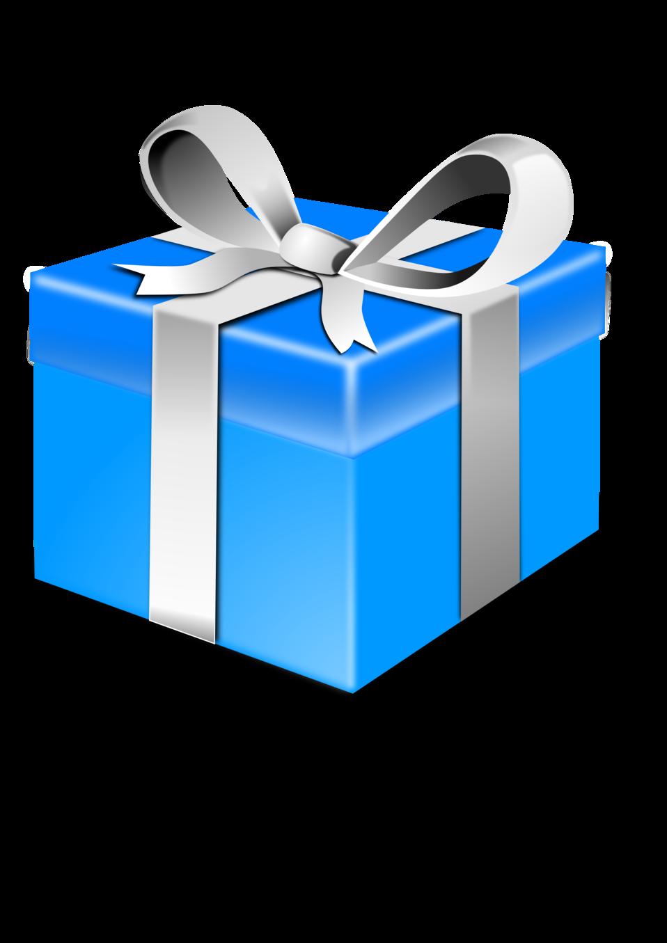 Present Blue Pack