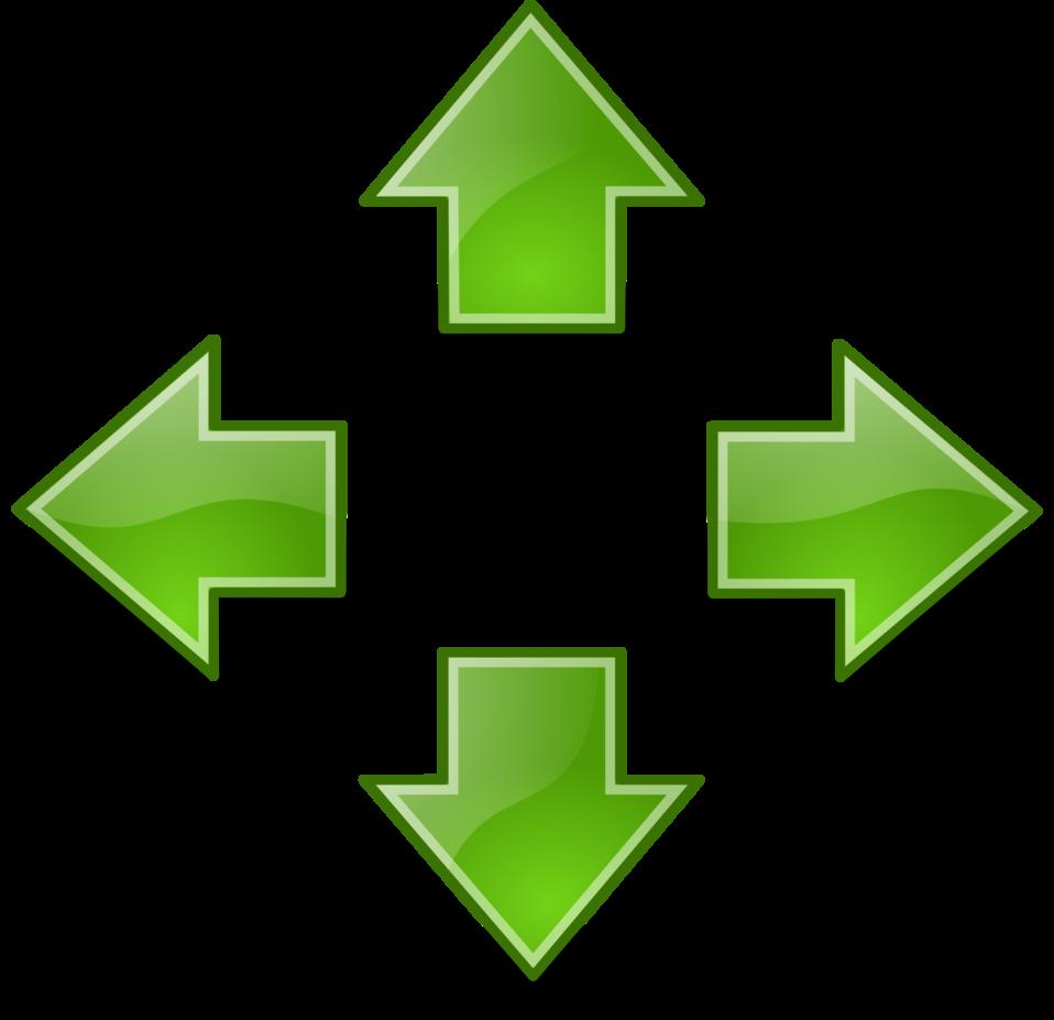 tango green arrows