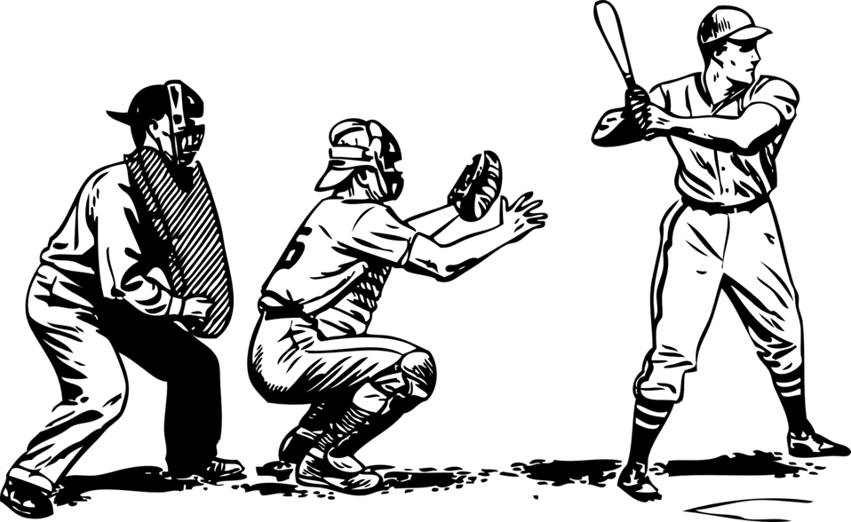 baseball at bat