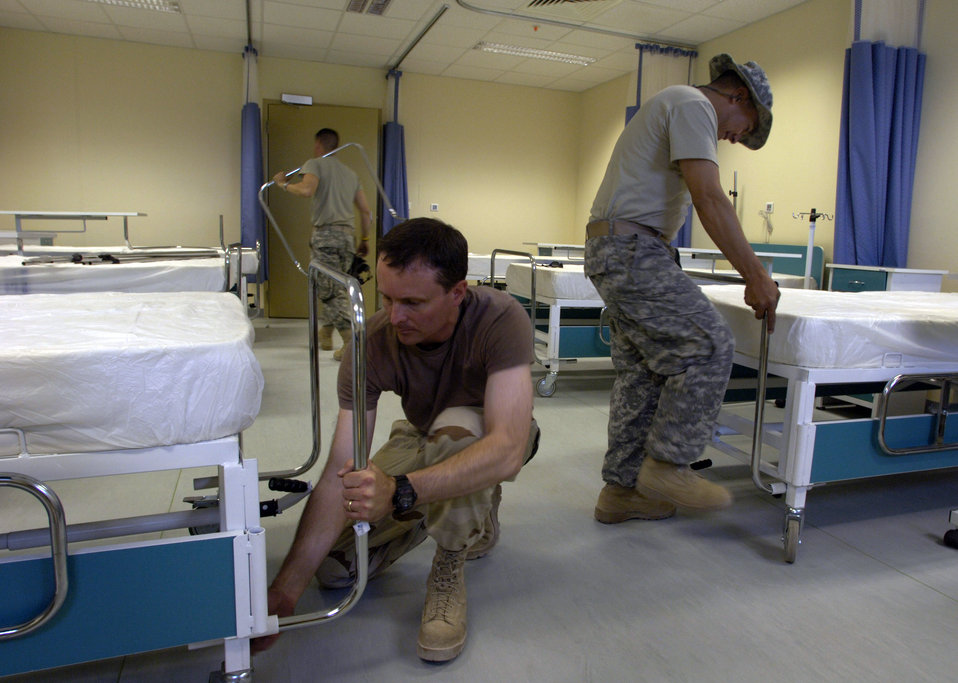 Airmen equip Afghan hospital with supplies, knowledge