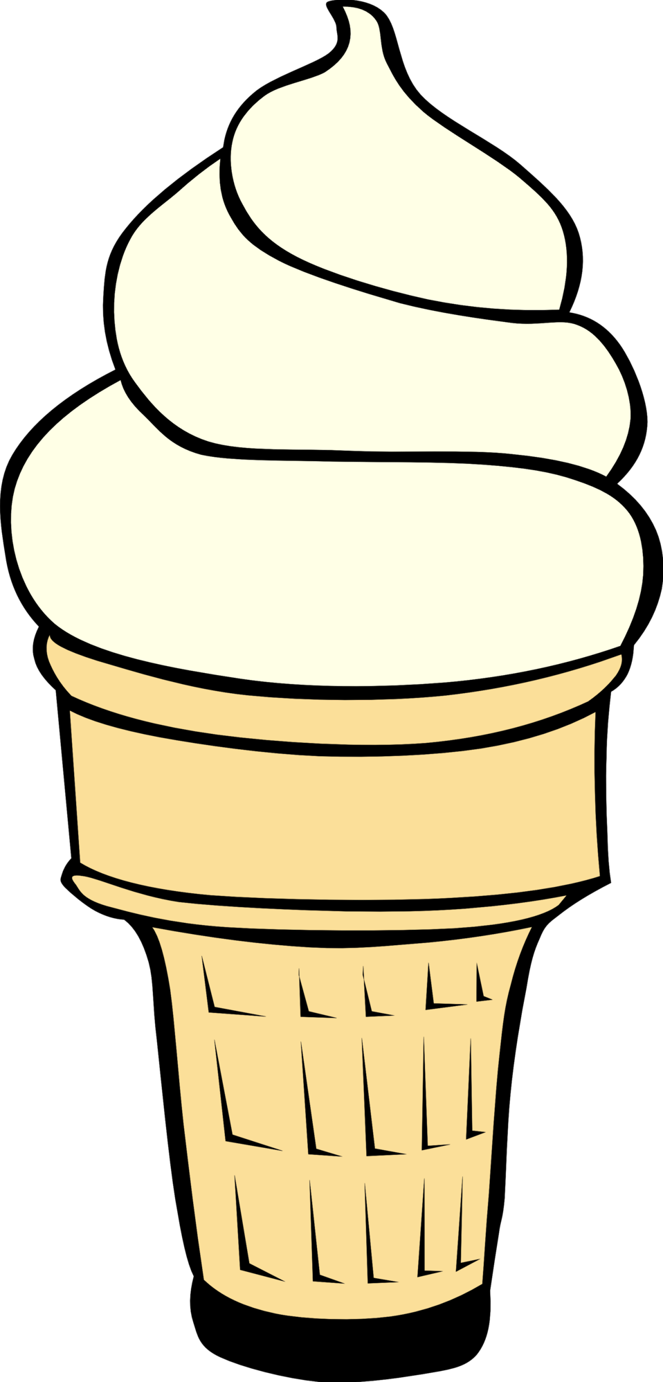 Fast Food, Desserts, Ice Cream Cones, Soft Serve