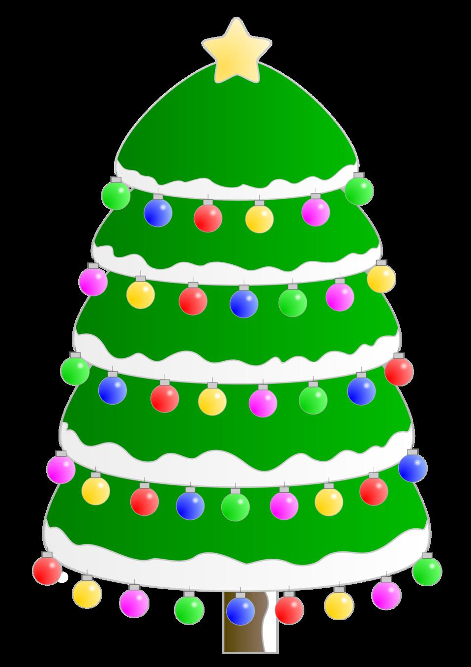 Christmas tree. Arbol de Navidad
