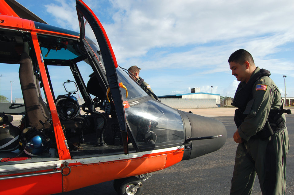 Coast Guard pilot traces roots to Air Force education opportunities