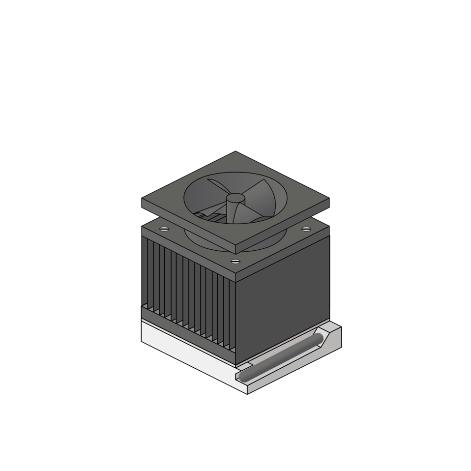 cpu heatsink fan socket