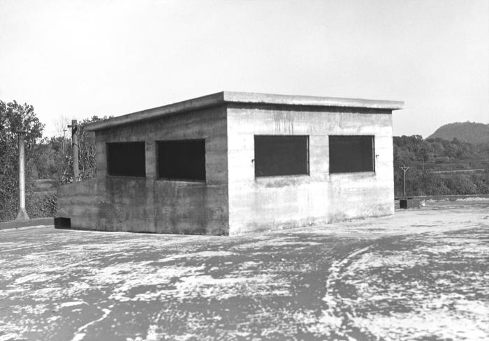 This historic 1934 photograph revealed the discovery of unprotected vents located on the Municipal Reservoir treatment plant in Red Wing, Mi