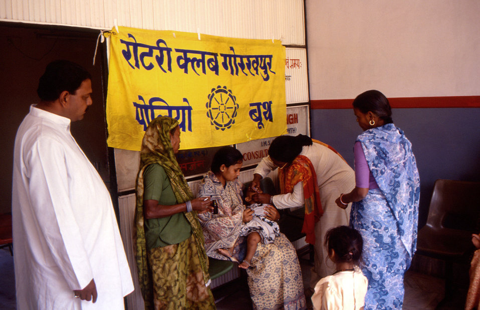 Through its PolioPlus program, the Rotary International organization is a key STOP Transmission of Polio (STOP) immunization initiative part