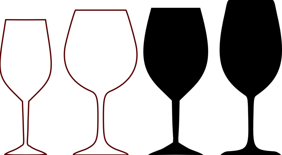 wine glass shapes