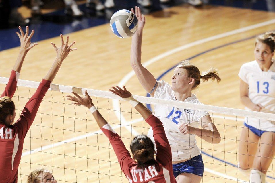 Academy women's volleyball team ends season