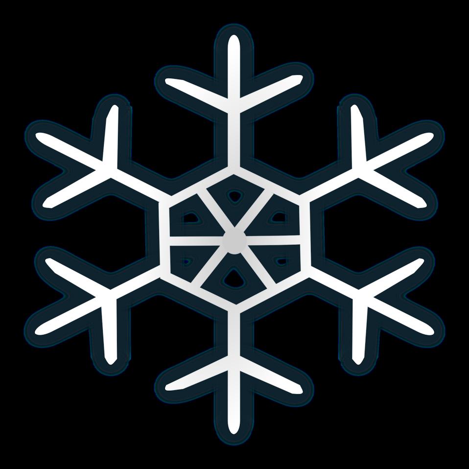 Snow flake icon 4