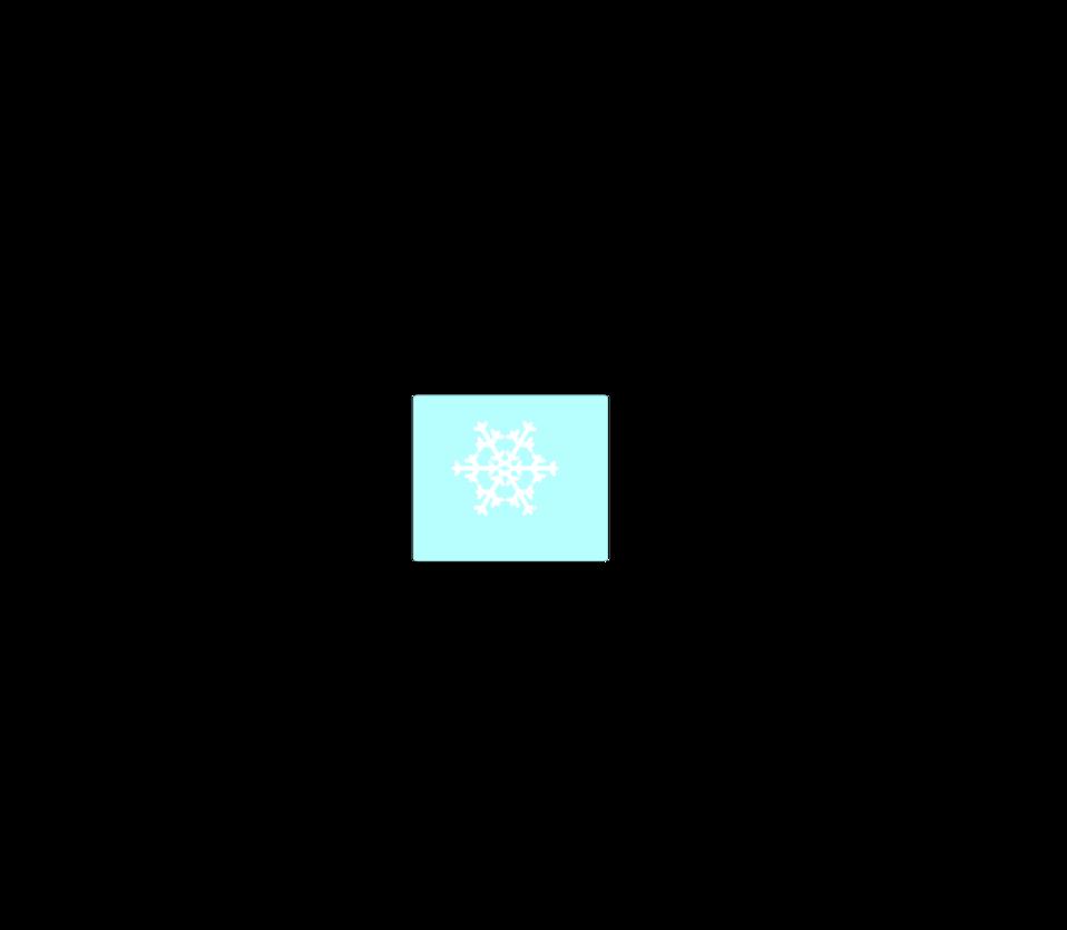 Weather symbol: Snow Flake6