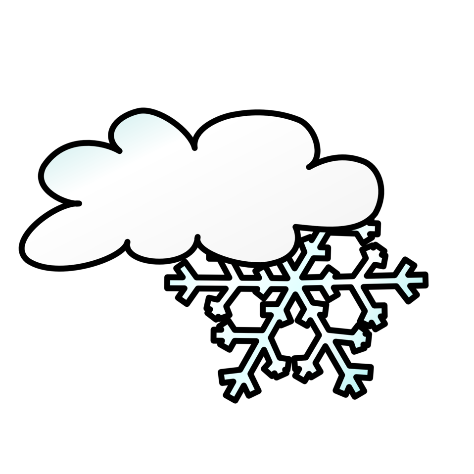 Weather Symbols: Snow Storm