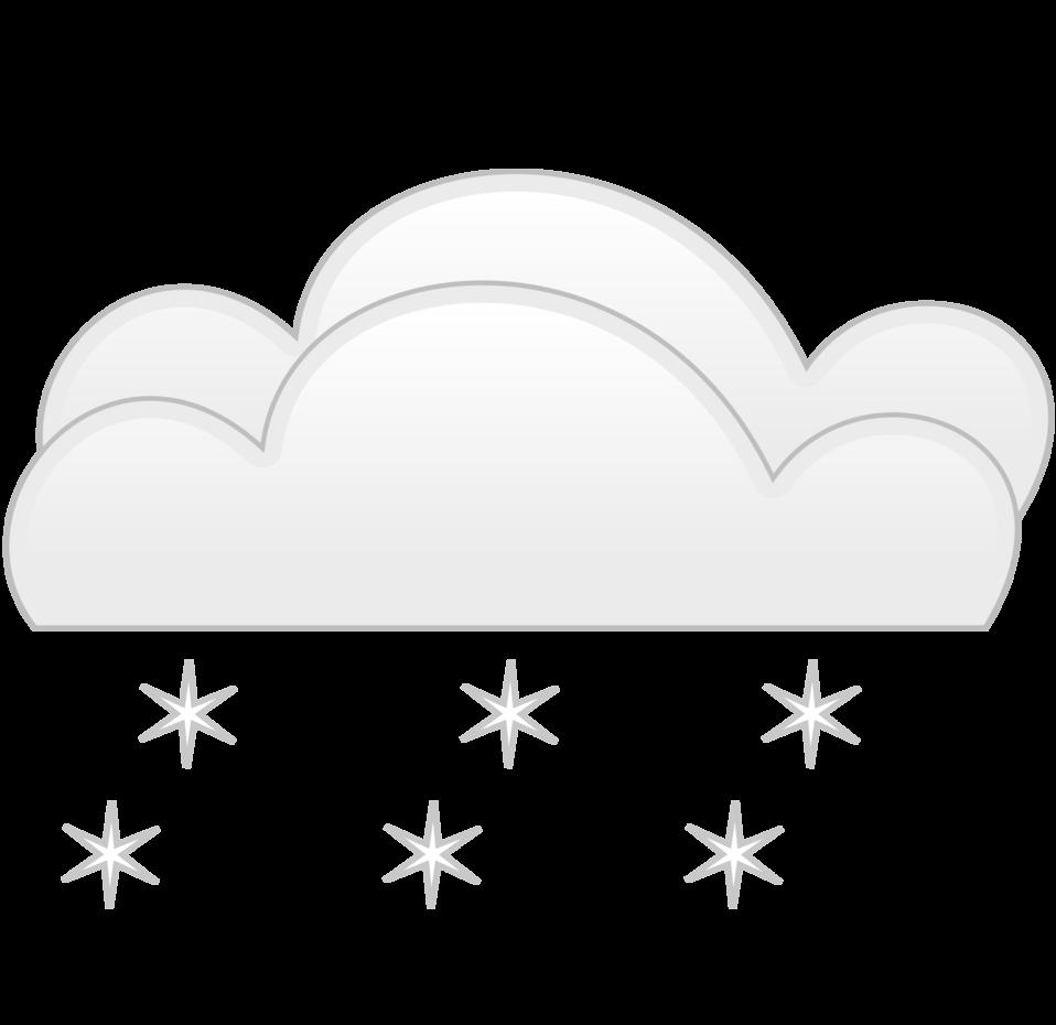 overcloud snowfall