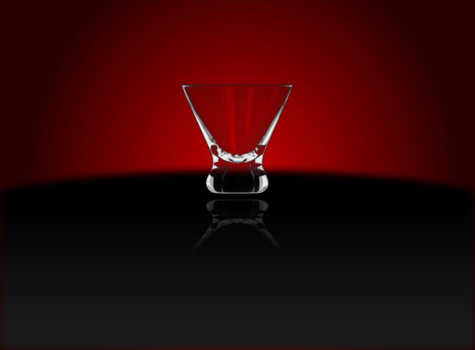 Cocktail Glass (Cosmopolitan)