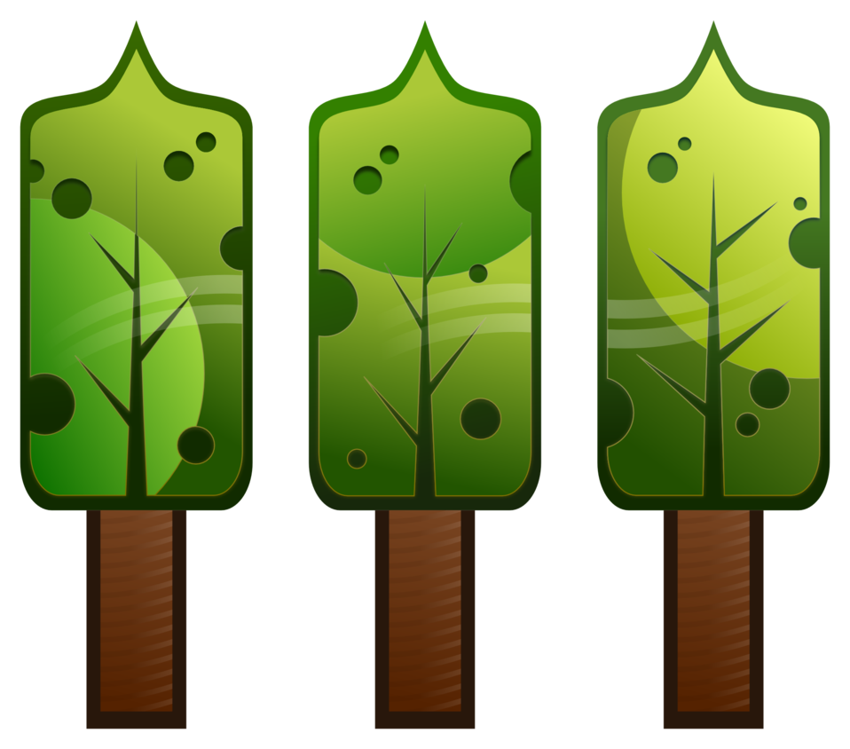 Stylised Abstract Trees