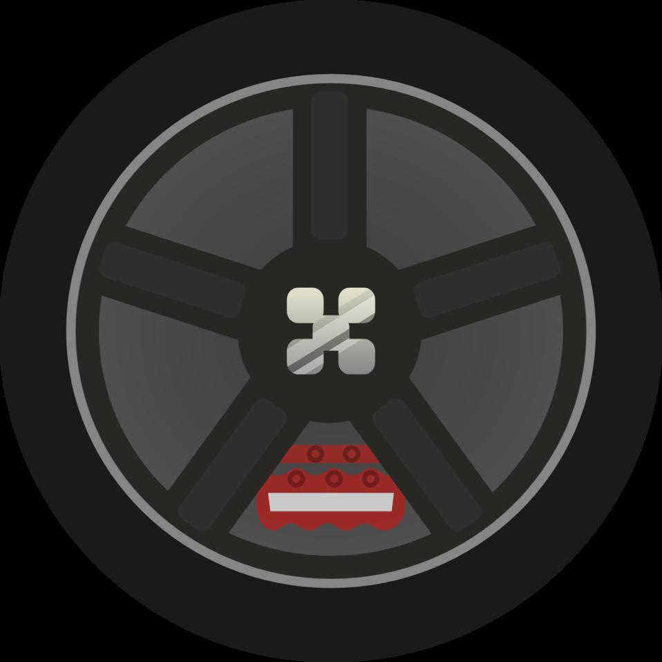 public domain clip art image dark simple car wheel tire rims side rh publicdomainfiles com tired clipart tires clip arts svg