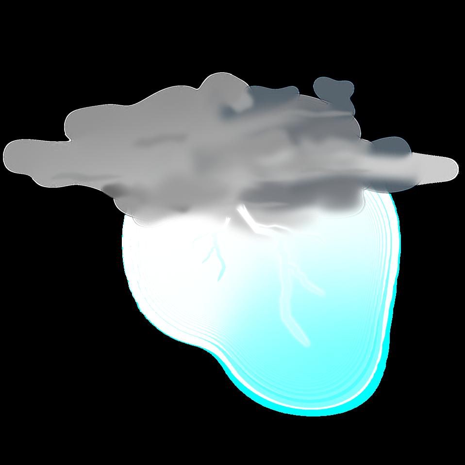 weather icon - thunder