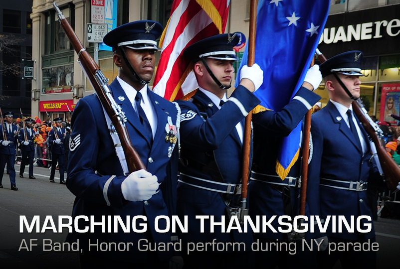 Marching on Thanksgiving