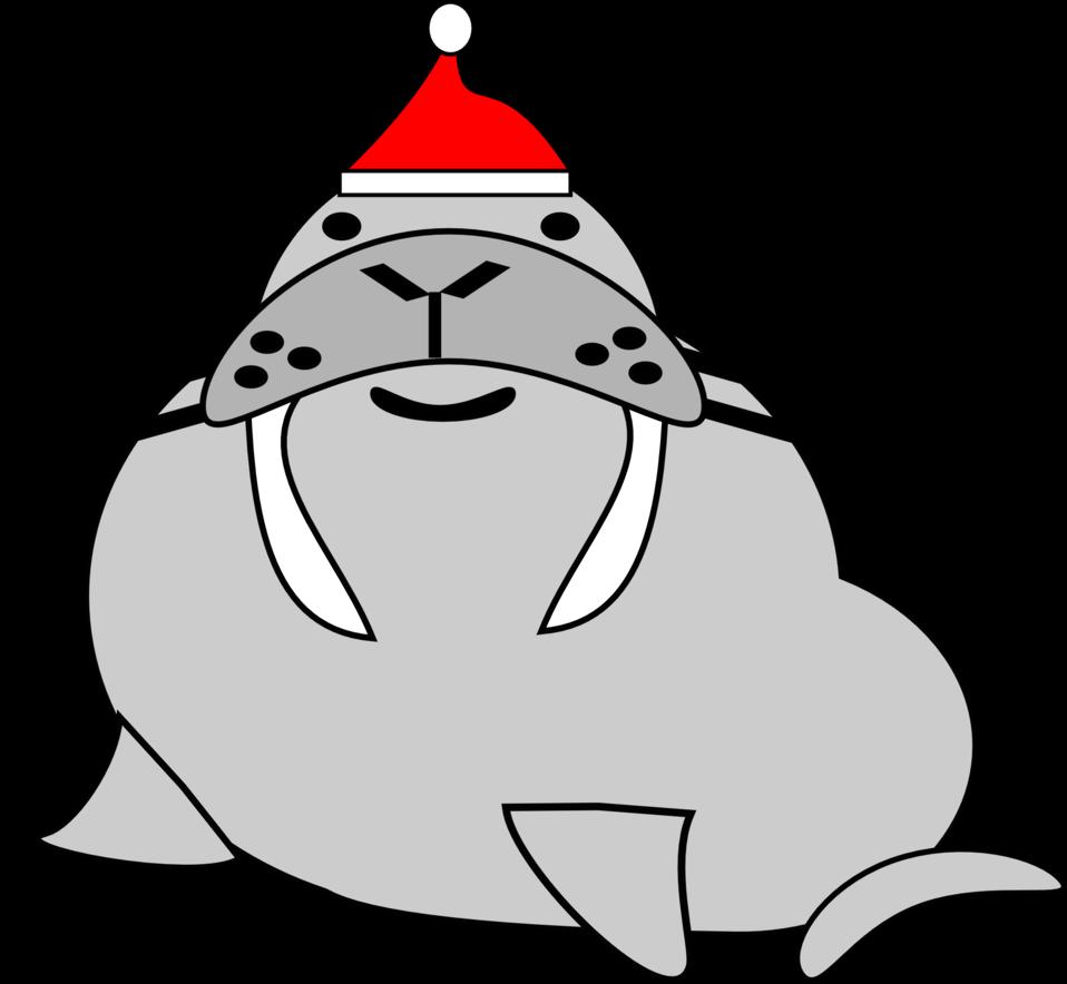 santa walrus