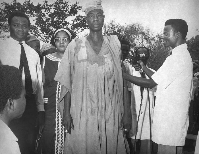 These were participants in the Smallpox Eradication Program in Ibadan, South Western Nigeria, 1968.
