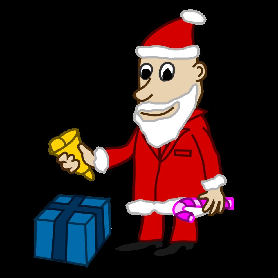 Comic characters: Santa