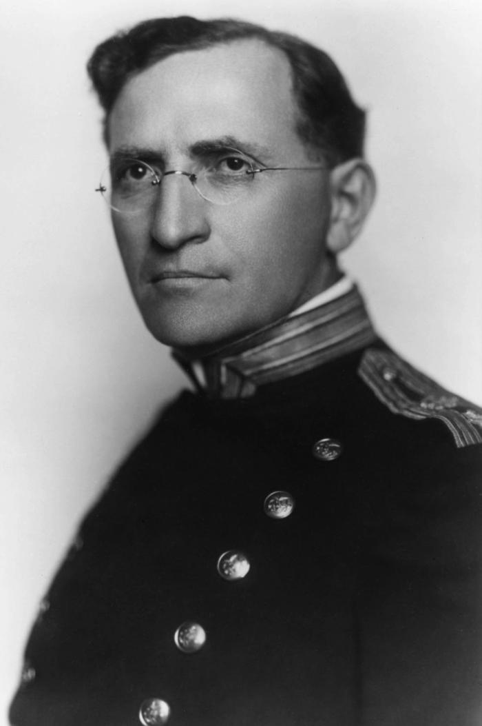 This photographic portrait shows epidemiologist and member of the U.S. Public Health Service, Dr. Joseph Goldberger (1874 - 1929).