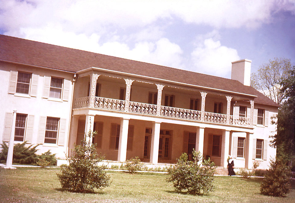 "Depicted in this photograph were the ""Sisters' of Charity"" quarters, which housed the Sisters who were members of the leprosarium"