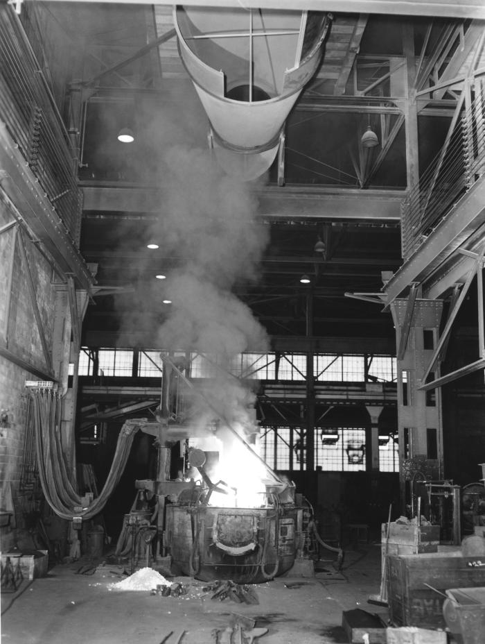 This historical 1947 photograph was provided by the Center for Disease Control's (CDC), National Institute for Occupational Safety and Healt