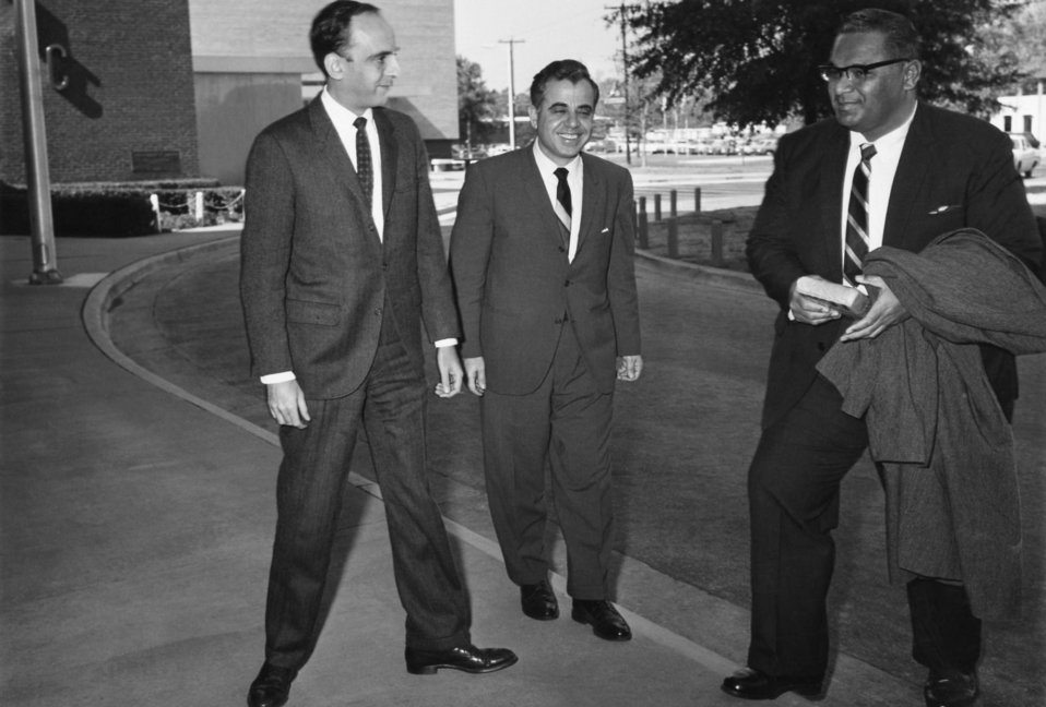 Shown here welcoming Prince Tu'ipelehake of Tonga (right) to the Centers for Disease Control, was former CDC Director, Dr. David J. Sencer (