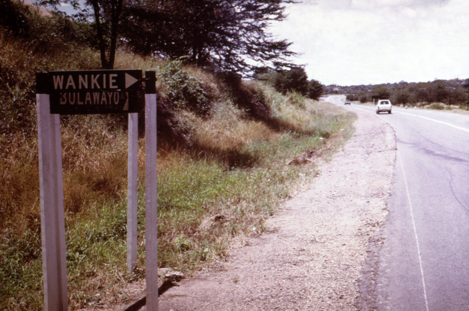 This is the location along a Rhodesian roadside where a Marburg patient (case #1) came into contact with an unknown vector.