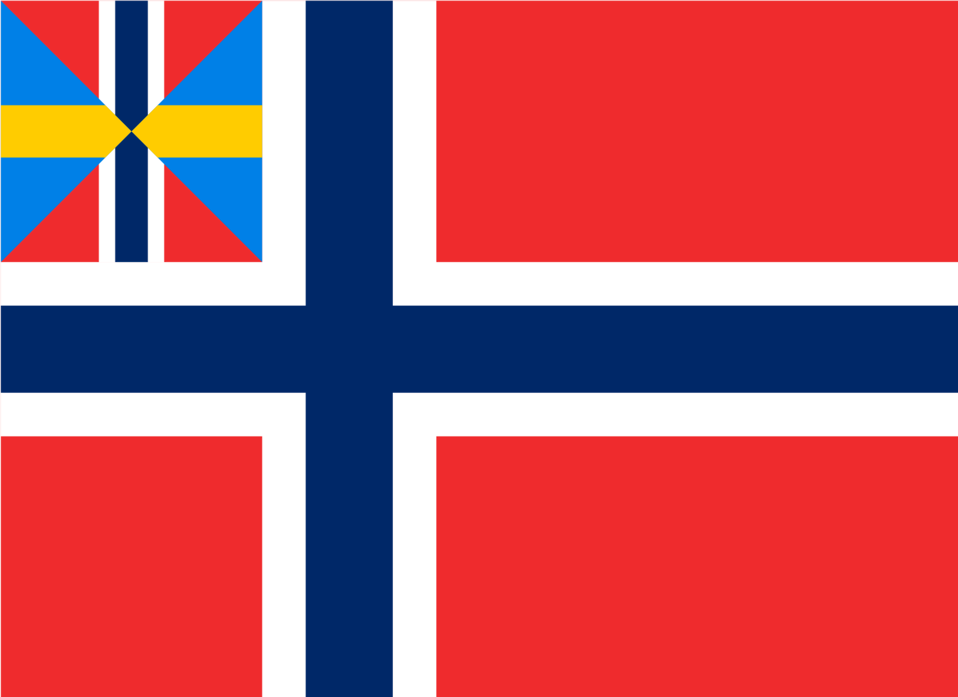 Norwegian Union flag