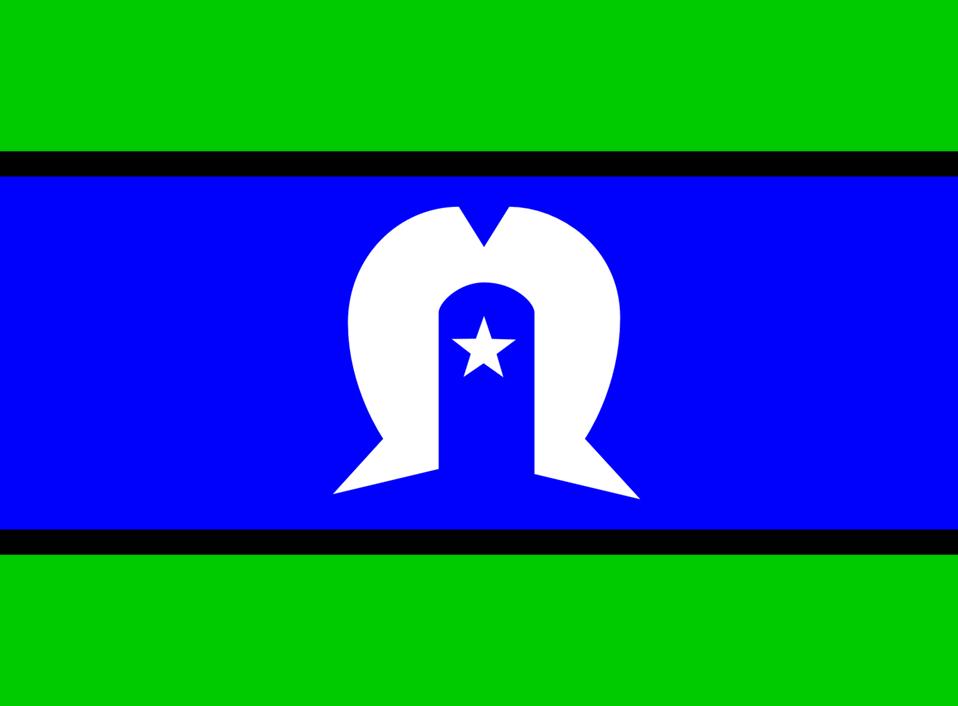 Flag of the Torres Strait Islanders