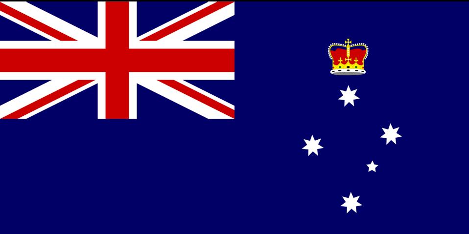 Flag of Victoria Australia