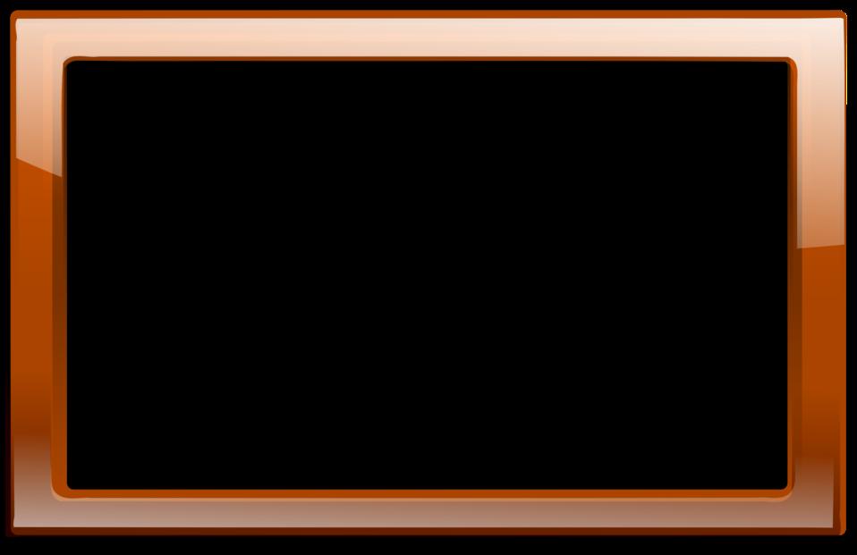 Brown Orange Frame