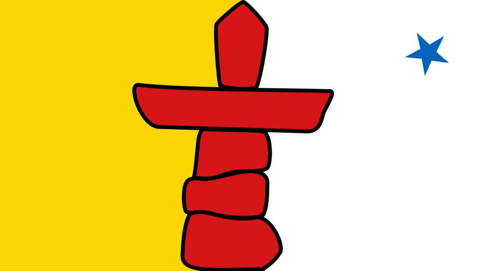 Flag of Nunavut, Canada