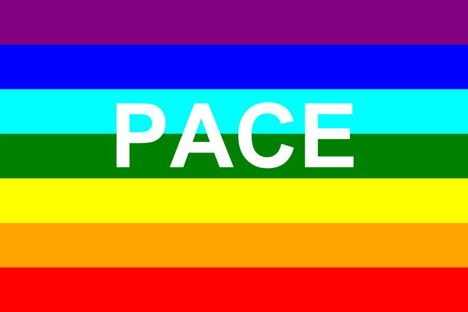 Italian peace flag