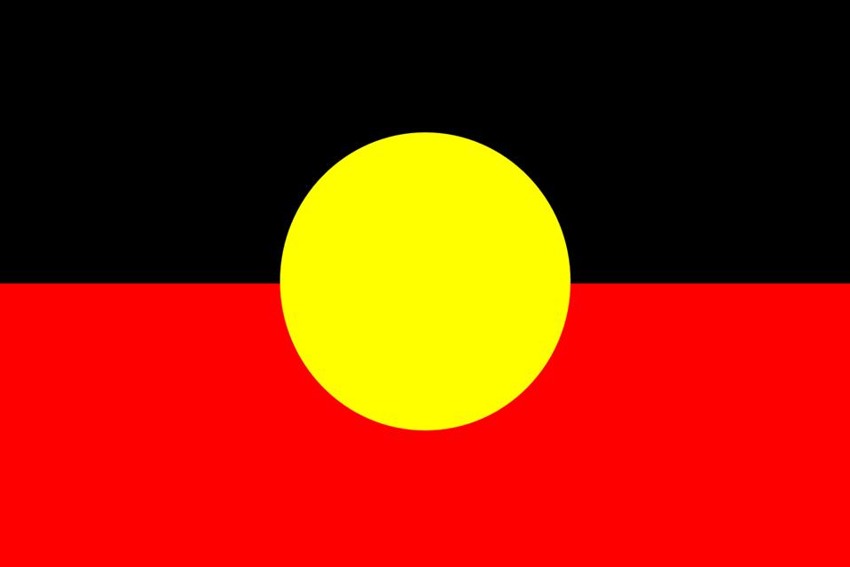 Flag of Australian Aborigines