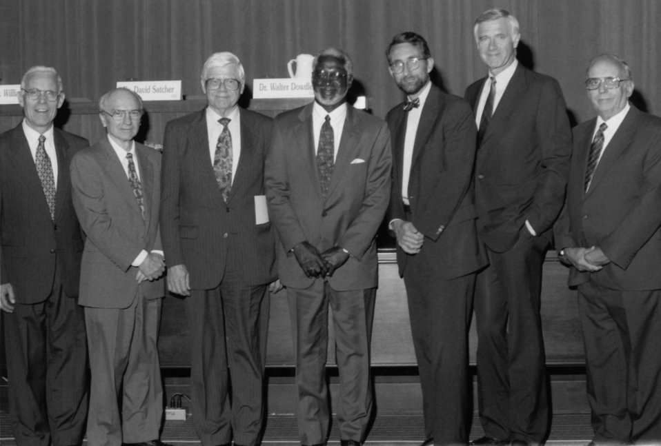 This 1996 ceremony was in honor of former Centers for Disease Control Directors, and took place at the CDC's 50th anniversary, July 1, 1996.