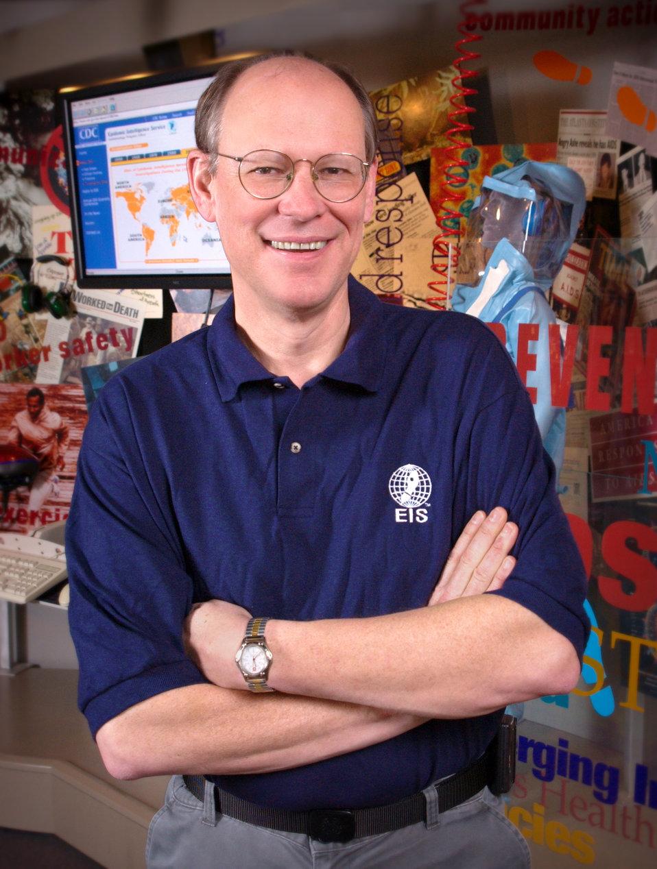 Douglas Hamilton, M.D., Ph.D., is the Dir. of the Epidemic Intelligence Service (EIS) Program.