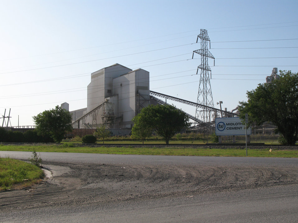 This 2009 image depicts a cement processing plant located in Midlothian, Texas. The manufacturing of cement demands close scrutiny, for at a