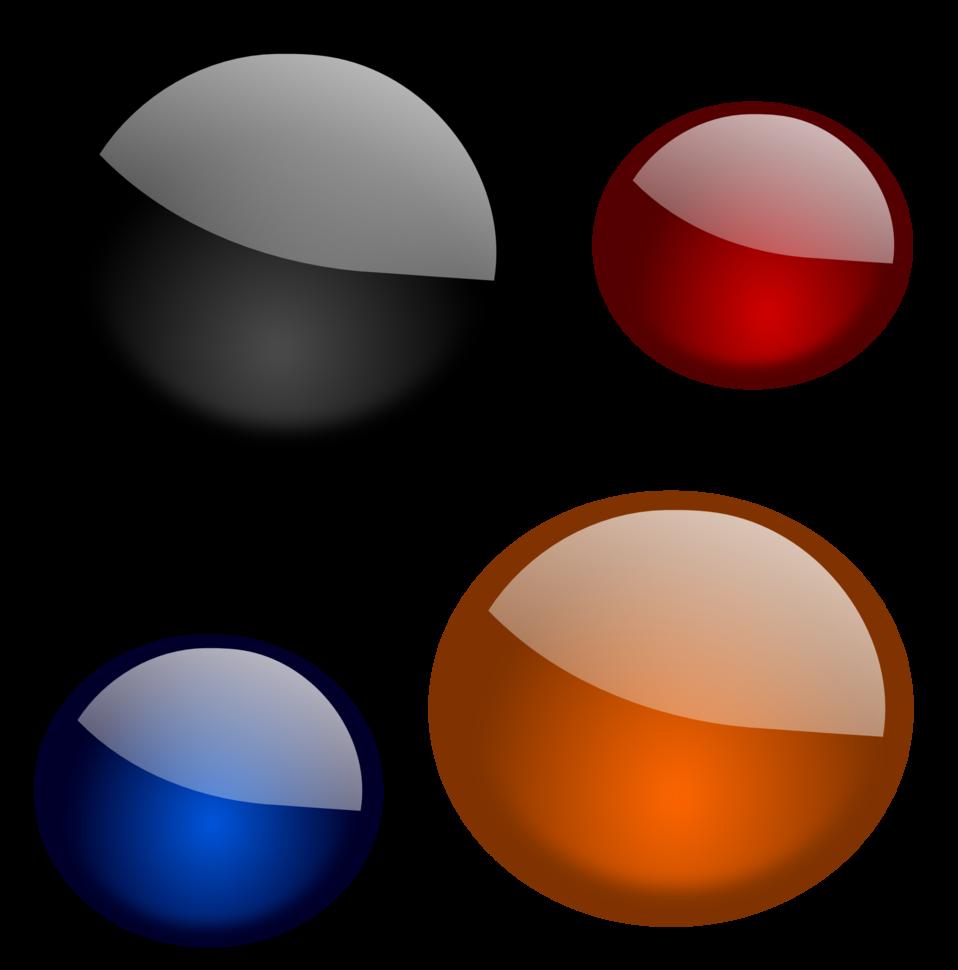 Glossy shapes 3