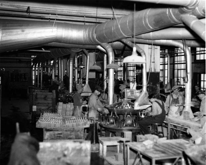 This 1947 photograph was provided by the Center for Disease Control's (CDC), National Institute for Occupational Safety and Health (NIOSH).