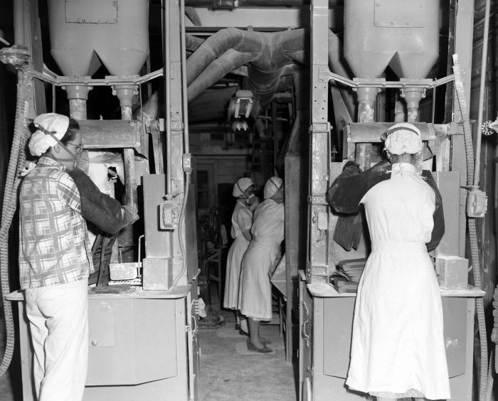 This 1953 photograph was provided by the Center for Disease Control's (CDC), National Institute for Occupational Safety and Health (NIOSH).