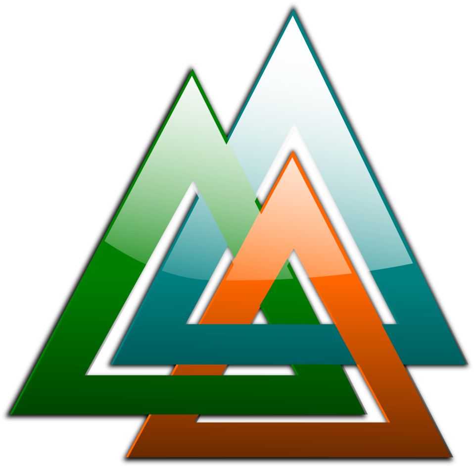 3 Triangles Linked