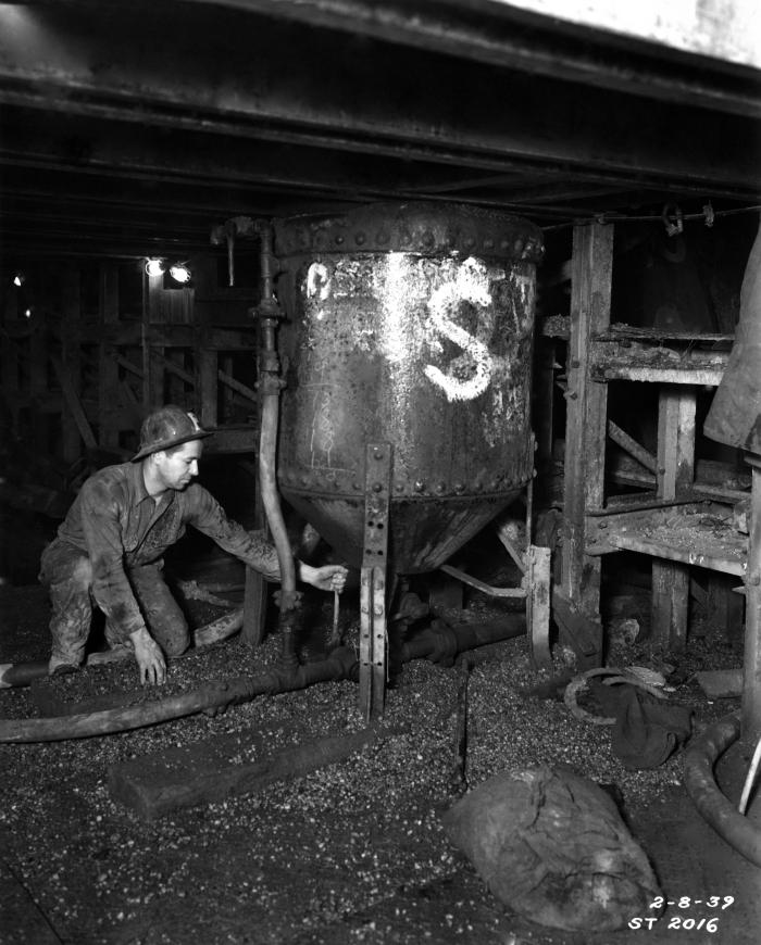 This historical image was provided by the Center for Disease Control's (CDC), National Institute for Occupational Safety and Health (NIOSH).