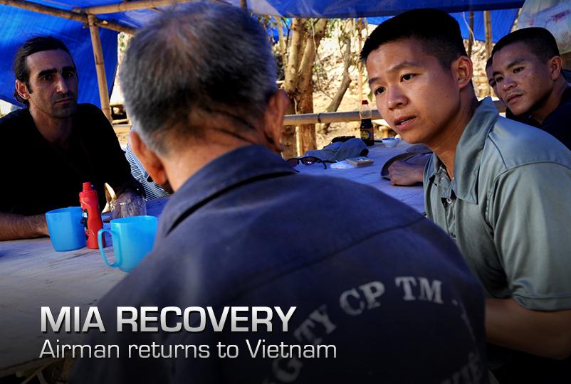Airmen returns to Vietnam