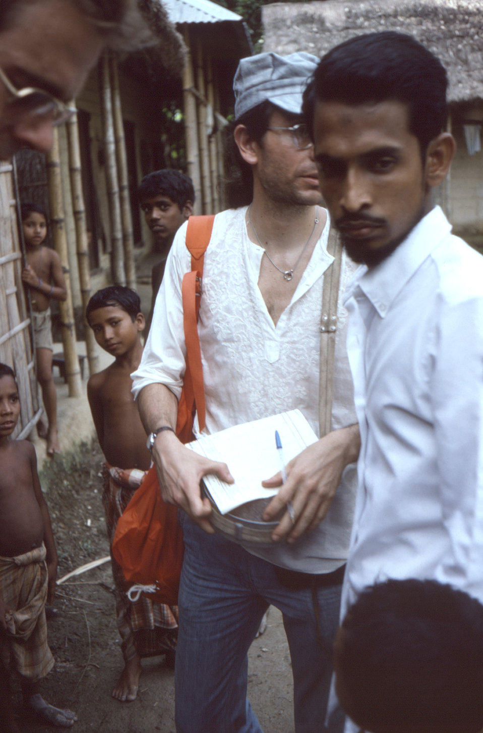 Still in the Sylet District of north-eastern Bangladesh, was Dr. Michael Schwartz, along with his translator as they were in the process of