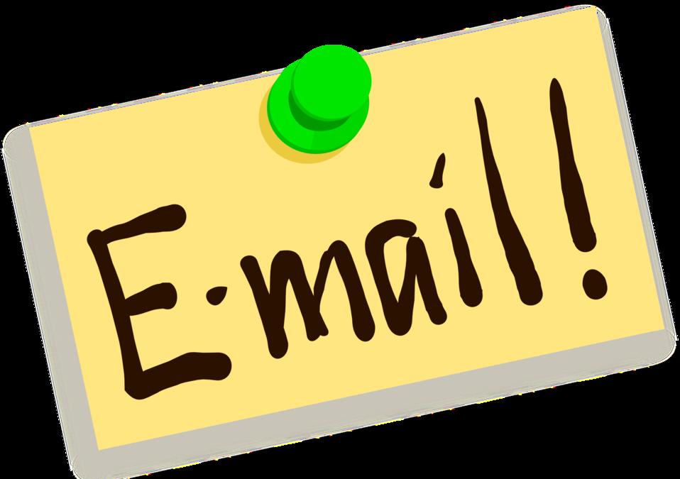 Thumbtack note email