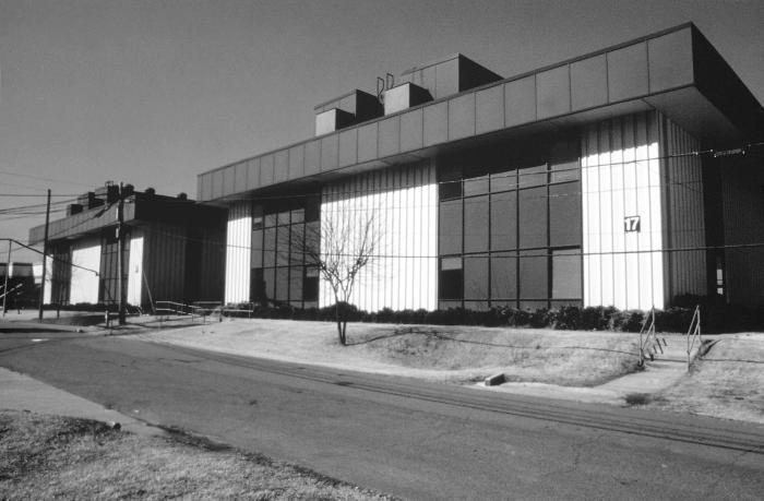 This 1986 photograph depicted Building 17 located on the Centers for Disease Control's 'Chamblee Campus' off of Buford Highway in Chamblee,