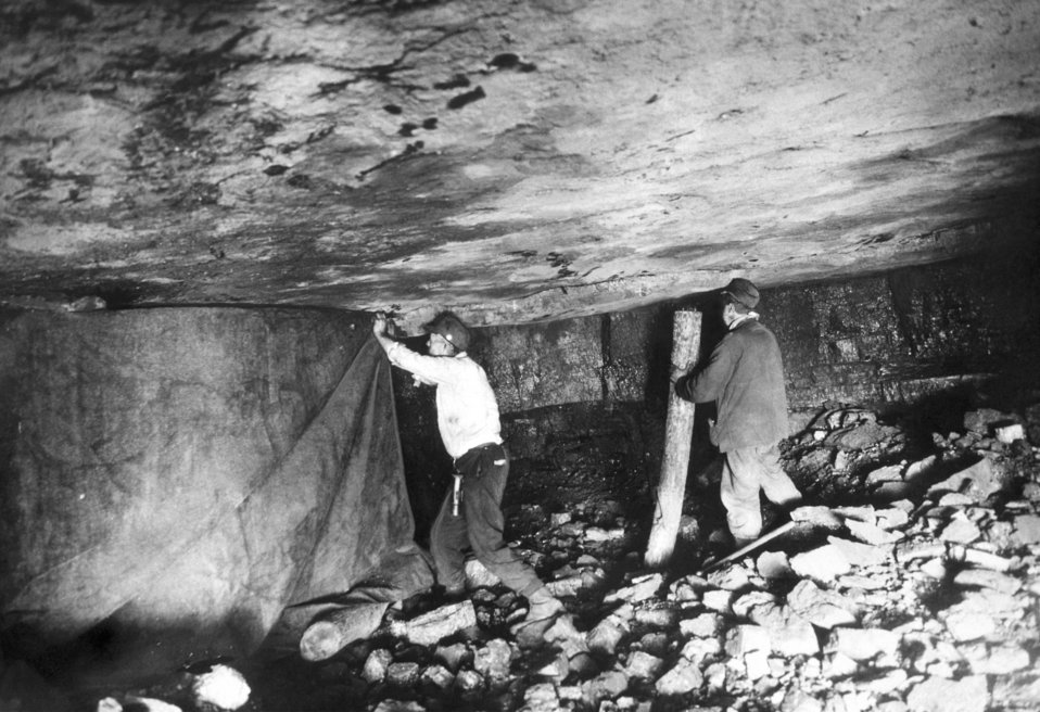 This historical image, which was provided by the Center for Disease Control's (CDC), National Institute for Occupational Safety and Health (