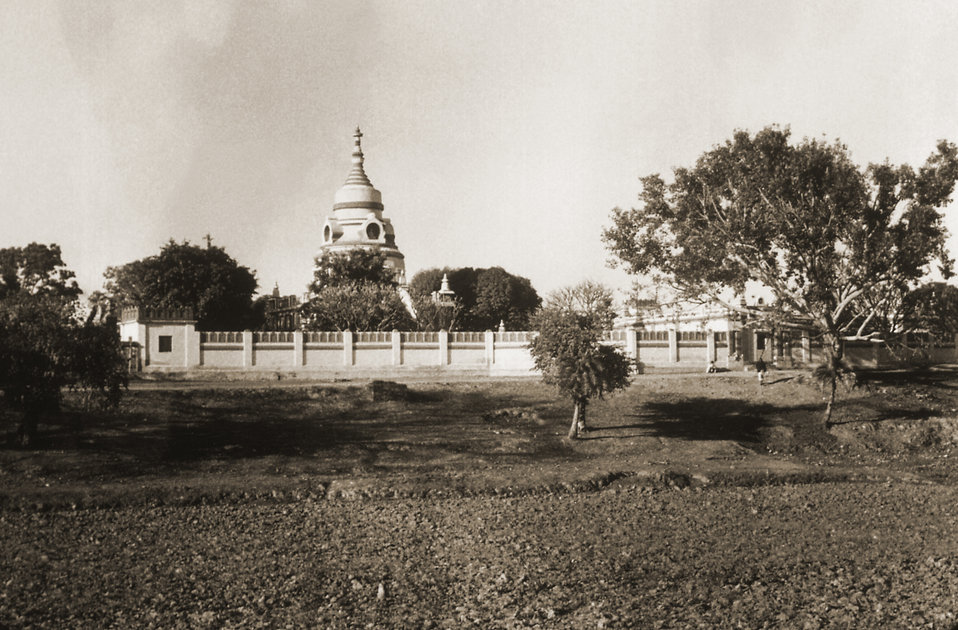 This image depicts a Jain Temple in the Gaya district, in the Indian state of Bihar.